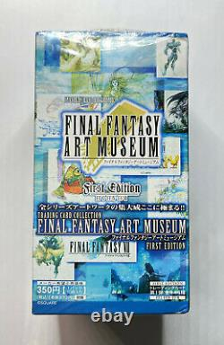 2000 Final Fantasy ART MUSEUM Trading Card BOX FF7 VII RARE SEALED FIRST EDITION