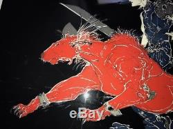 AMANO Final Fantasy VII 7 Lithograph A Moment Cloud Red XIII Lithographie ART
