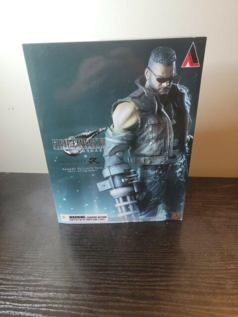 Authentic Final Fantasy Vii 7 Remake Play Arts Kai Barret Wallace Ver 2