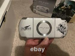 BOXED Sony PSP Limited Edition Final Fantasy VII 7 Crisis Core Console + Game