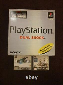 Brand New Sealed PS1 Playstation Original Console With Final Fantasy VII PAL