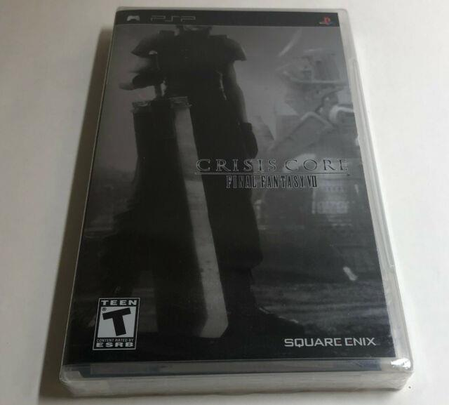 Crisis Core Final Fantasy Vii Brand New Factory Sealed Sony Psp Metallic Silver