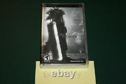Crisis Core Final Fantasy VII (PSP) NEW SEALED BEST BUY EXCL FOIL COVER MINT