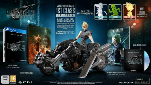Final Fantasy 7 Vii Remake 1st Class Edition Ps4 Collectors Edition