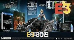 FINAL FANTASY 7 VII REMAKE 1ST CLASS EDITION PS4 Confirmed Pre-Order with receipt