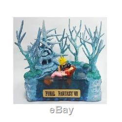 FINAL FANTASY VII Cloud & Aerith Forgotten City Diorama Figure with Serial USED