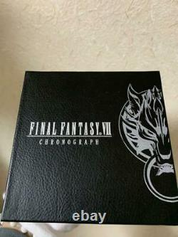 FINAL FANTASY VII Limited 77 Chronograph Cloud FF7 Stainless Watch m36084171759