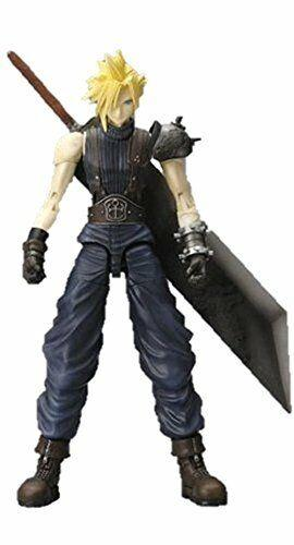 Final Fantasy Vii Play Arts Cloud Strife (pvc Painted Action Figure)