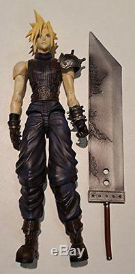 FINAL FANTASY VII PLAY ARTS Cloud Strife (PVC painted action figure)Japanese