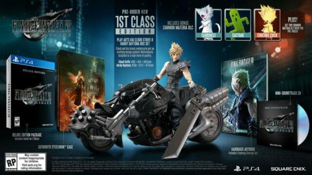 Final Fantasy Vii Remake 1st Class Edition (ps4)