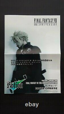 Final Fantasy 7 VII 10th Anniversary Limited Edition Potion & Ultimania Book