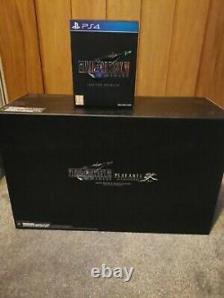 Final Fantasy 7 VII Remake 1st First Class Edition playstation 4 ps4 deluxe