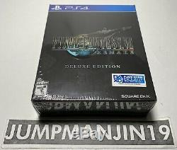 Final Fantasy 7 VII Remake Deluxe Edition PS4 #3246 BRAND NEW SEALED