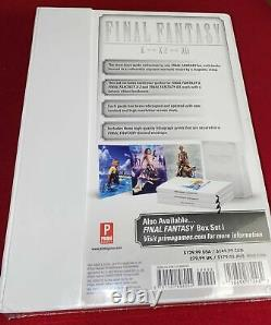 Final Fantasy Box 1 & 2 Collectible Game Guide Sets (VII, VIII, IX), (X, X2, XII)