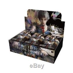 Final Fantasy TCG Opus VII Sealed Booster Box of 36 Packs Trading Card Game 7