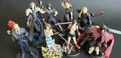 Final Fantasy VII 7 10th Anniversary Portion Figure All 8 type set