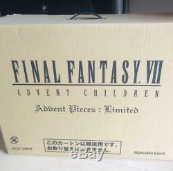 Final Fantasy VII 7 Advent Children Adbent Pieces Limited Box Cloud figure USED