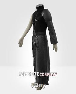 Final Fantasy VII 7 Cloud Deluxe Cosplay Costume Full Set FREE P&P