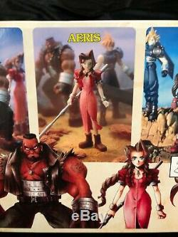 Final Fantasy VII 7 Collectible Edition Figures 1998 Bandai Unopened IN-BOX