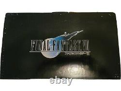 Final Fantasy VII 7 FF7 Cloud Strife and Hardy Daytona 1/8 cold cast statue new
