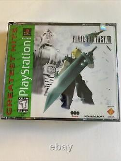 Final Fantasy VII 7 Greatest Hits (Playstation 1 PS1) New Factory Sealed