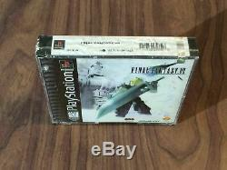 Final Fantasy VII 7 (PlayStation 1, PS1) Brand New Black Label Drill hole