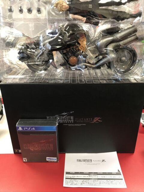 Final Fantasy Vii 7 Remake 1st Class Edition Ps4 Collector's New See Details