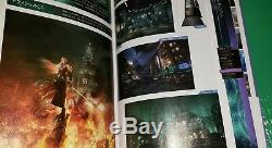 Final Fantasy VII 7 Remake 1st Class Edition Ultimania Guide Art Book IN HAND