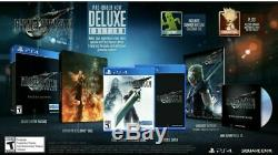 Final Fantasy VII 7 Remake Deluxe Edition PlayStation 4 PS4 New FF7 FFVII