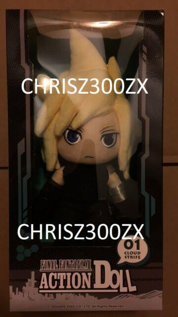 Final Fantasy Vii 7 Remake Ps4 1st Class Edition Cloud Plush Figure Action Doll