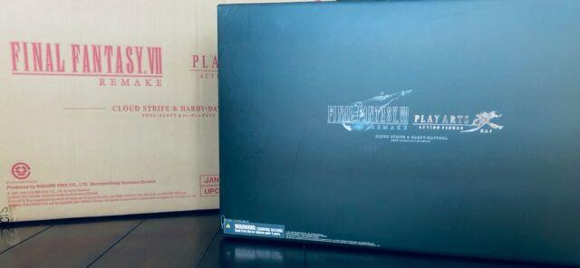 Final Fantasy Vii 7 Remake Play Arts Kai Cloud Figure Only First Class Edition