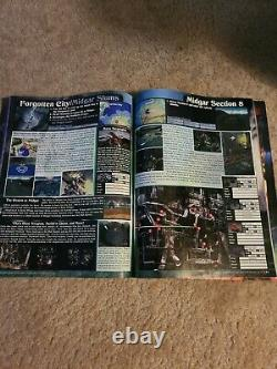 Final Fantasy VII (7) Strategy Guide Versus Books With Poster 1997 SUPER RARE