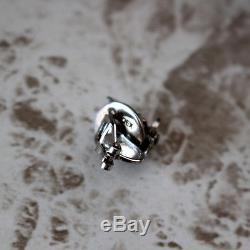 Final Fantasy VII Advent Children Silver Earring Cloudy Wolf Cloud Sterling