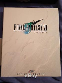 Final Fantasy VII Carddass Masters + Vending Cards Complete Collection Great