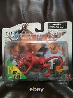 Final Fantasy VII Collectable Edition 1998 New Rare + FF7 Vincent, Red XIII