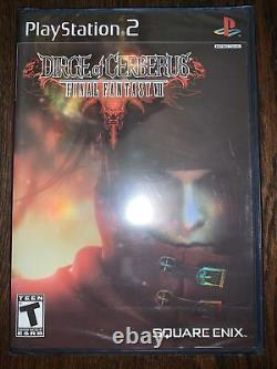 Final Fantasy VII Dirge of Cerberus PS2 2006 Factory SEALED Free Shipping