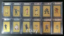 Final Fantasy VII GOLD Collection LIMITED EDITION FFVII Complete 12 Cards BGS