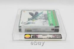Final Fantasy VII PS1 GREATEST HITS VGA 100 UNCIRCULATED GOLD GEM MINT CASED