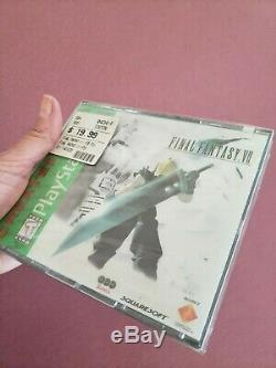Final Fantasy VII (PlayStation 1, 1997) Greatest Hits. Brand New. Factory Sealed