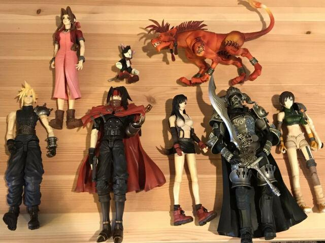 Final Fantasy Vii Play Arts No Boxes Few Accessories Lot Used And It Shows