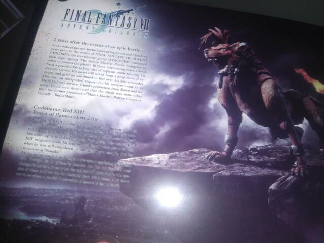 Final Fantasy Vii Red Xiii Play Arts Action Figure Square Enix Pvc