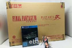 Final Fantasy VII Remake 1st Class Edition (PS4) / FF 7 Collectors Edition MISB