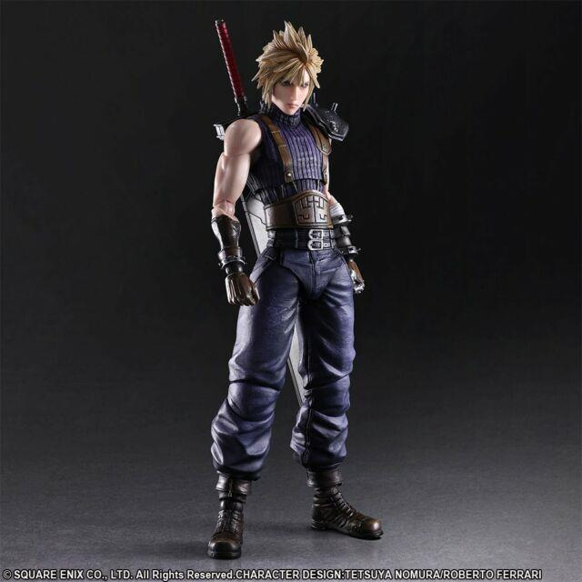 Final Fantasy Vii Remake Cloud Strife Play Arts Kai Limited Color Version Used