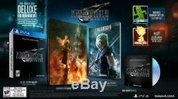 Final Fantasy VII Remake Deluxe Edition PS4 New and SEALED Shipping April 9