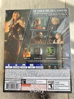 Final Fantasy VII Remake Deluxe Edition PlayStation 4 PS4 FF7 Sealed Brand New
