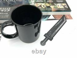 Final Fantasy VII Remake Material Ultimania+Mug cup+Poster Limited Edition
