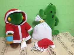 Final Fantasy VII Tonberry and Cactuar Plush toy Doll Limited edition 1999
