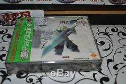 Final Fantasy Vii 7 PS1 Playstation1, BRAND NEW SEALED Works on PS2