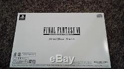 Flawless Rare Final Fantasy VII Advent Pieces Limited Box FF7 Cloud