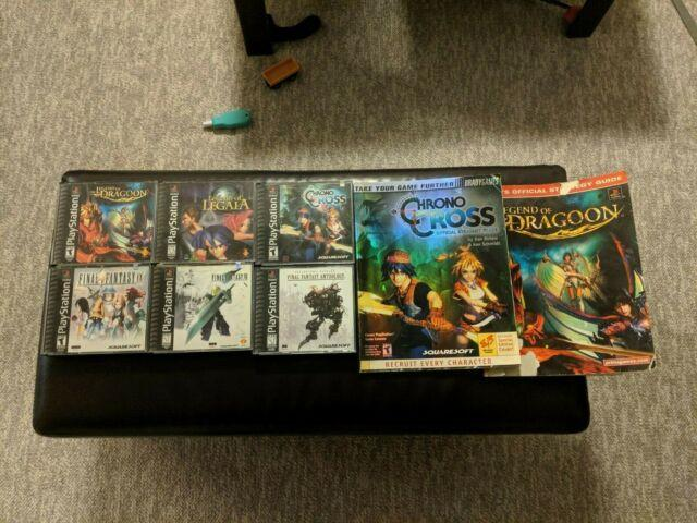 Lot Of 6 Ps1 Rpg Games -great Condition! Final Fantasy Vii Legend Of Dragoon Etc